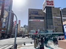 名古屋駅から質トダ屋までの道順3・ビックカメラ前
